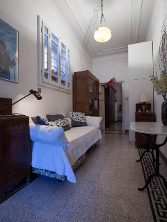 Corridoio fra le 2 camere - The hallway between master bedroom and the room with twin beds