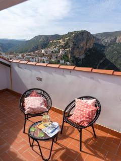 Pequeña terraza con preciosas vistas