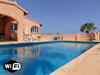 Villa Cometa - Villa with sea views and pool, Calpe