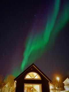 The Northen lights at your doorstep.