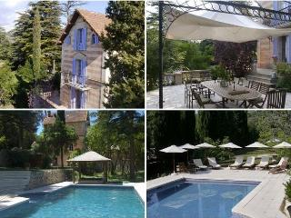 Enchanting villa-petit chateau w large pool