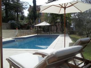 Charming villa-petit chateau w large pool, Tourrettes