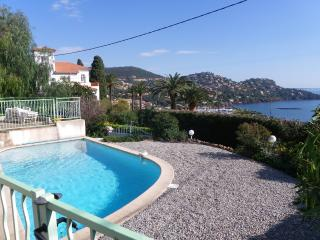 villa with pool, nice sea view, 20mn from Cannes, Theoule sur Mer