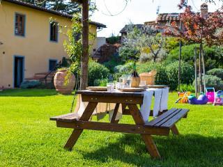 Appartamento in casa colonica Toscana Chianti Firenze giochi per bambini