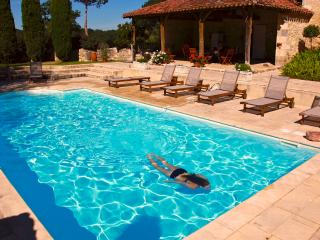 chateau de Mazelieres pool cottage