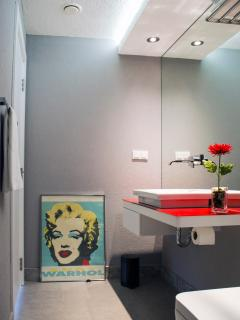 Bathroom with shower in each floor
