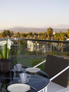 Enjoy the surrounding from the balcony!