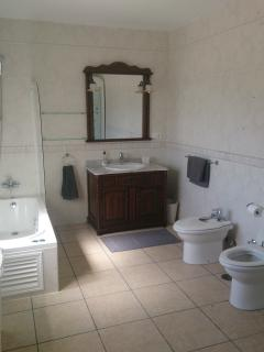 Unsuite bathroom to Main bedroom