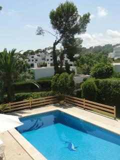 pool and view of Cala Gran