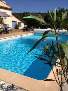 Coin piscine commune