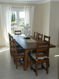 The Dining Room with extra large table