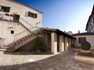 The private courtyard with exclusive access for our guests
