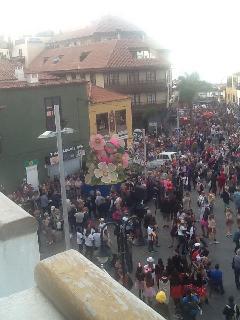 Carnivals Panoramic Puerto de/Fiestas del Carnaval Puerto de la Cruz Panoramica desde el apartamento