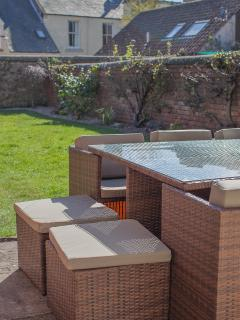 Garden furniture for al fresco dining and drinks
