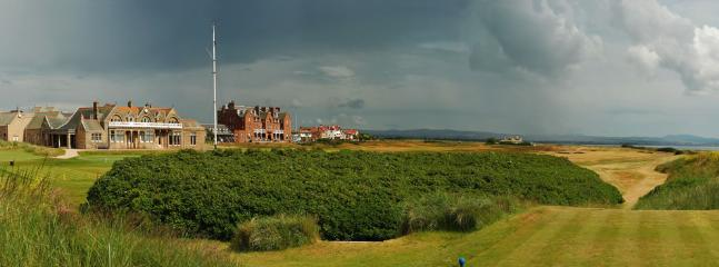 Royal Troon Clubhouse and 1st Tee
