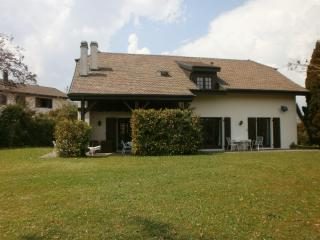 Country villa in village near Geneva, Switzerland