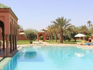 Private Villa in a Palm Oasis