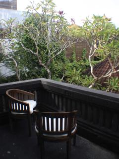lotus room's balcony