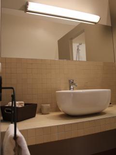 Les salles d'eau tout conforts avec douche à l'italienne