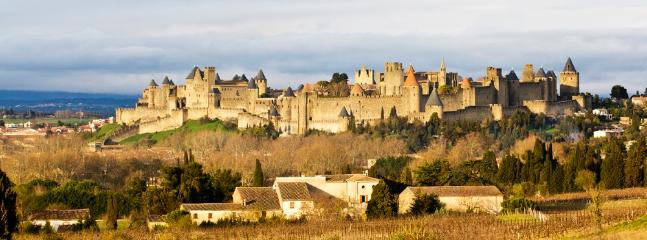the magic that is Carcassonne castle