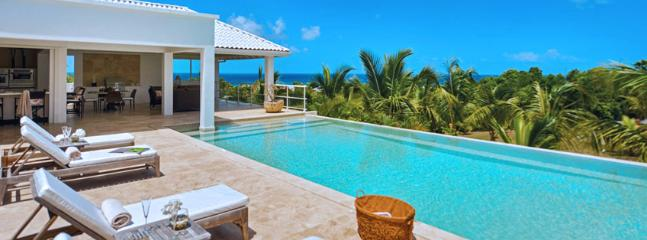 Villa Bamboo SPECIAL OFFER: St. Martin Villa 240 Overlooking The Turquoise Waters Of The Caribbean Sea And Sitting On Striking Landscaped Grounds., Terres Basses