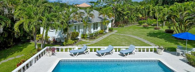 Villa Rose Of Sharon SPECIAL OFFER: Barbados Villa 395 An Elegant 6 Bedroom Villa Located In Sandy Lane Estate In Pristine Condition.