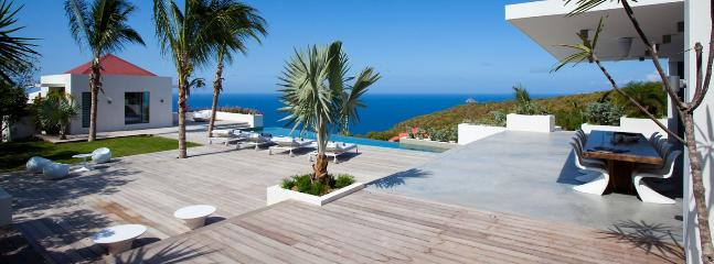Villa Palm Springs AVAILABLE CHRISTMAS & NEW YEARS: St. Barths Villa 10 You Will Be Astonished By The Amazing Sunset Ocean View., Lurin