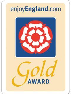Visit England Gold Award Winning