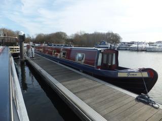 Boat Gema - A beautiful narrowboat on Thames, Henley-on-Thames