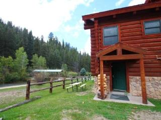 101 River Cabin - In Town, On the River, Ski In/ Ski Out, Full Kitchen, Fireplace-Wood, Red River