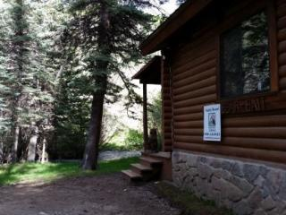Bear Bait - Log Cabin on the River, Fire Pit, Picnic Area, WiFi, Satellite TV, Red River
