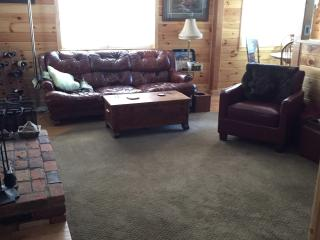 Surround sound, DVD player with many DVD's available.