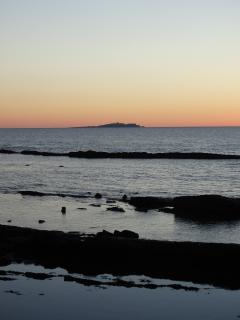 View from Pittenweem towards Isle of May