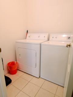 full size laundry machines