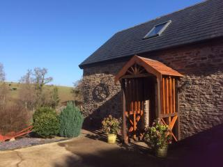 Cedar cottage at Pentre farm Usk country cottages