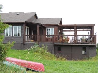 Waterfront cozy cottage on private trout lake