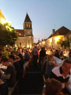 Bastille night in the village -party time