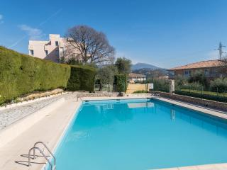 Panoramic View pool and tennis, Grasse