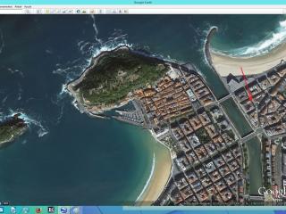 Piso Peña y Goñi a 50 m. playa Zurriola, San Sebastián - Donostia