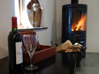 Enjoy a glass of wine by your fire