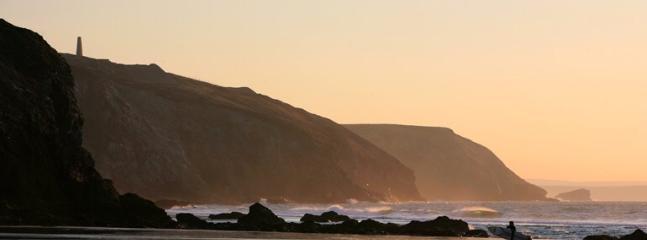 The stunning Chapel Porth beach