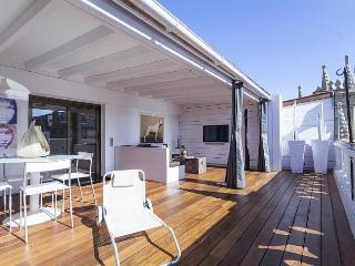 Ático lujoso con terraza privada, Barcelona