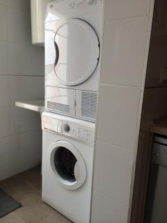 Washing machice and tumble dryer