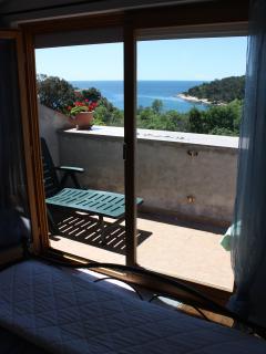 The smaller terrace