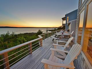 Shorefront Home on 20 Secluded Acres, Spectacular