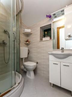 Bathroom at first floor with shower