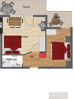 Apartment Brin floorplan