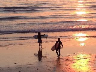 2BR Elegant Ocean View Twin Home, 1/2 Block to Beach, Summer Season Only, Del Mar