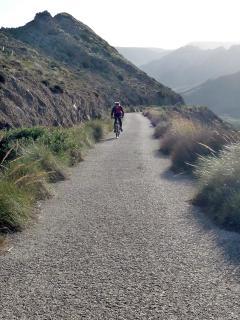 tierra para ir en bici