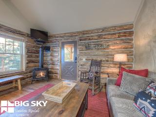 Big Sky Moonlight Basin   Cowboy Heaven Cabin 7 Rustic Ridge